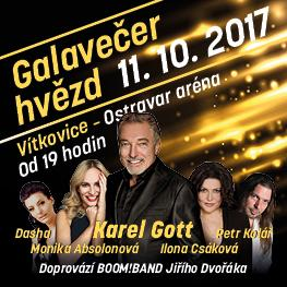 Karel Gott a přátelé <br>Ostrava | 2017
