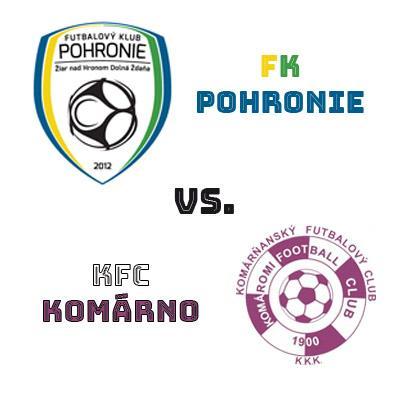 FK Pohronie - KFC Komárno