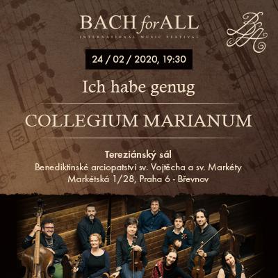 Bach for all - Ich habe genug