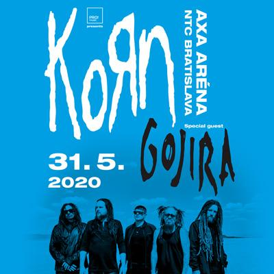 KoRn & Gojira Bratislava