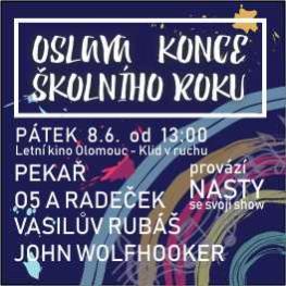 Oslava konce školního roku <br>Olomouc