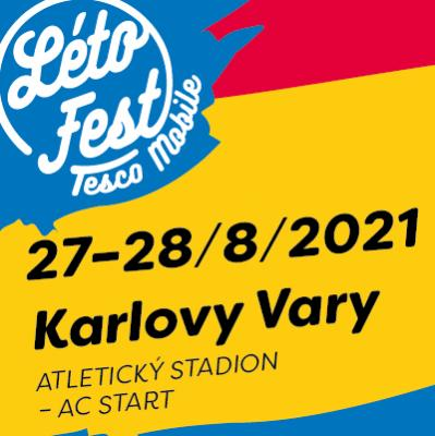 Létofest 27. - 28. 08. 2021 Karlovy Vary