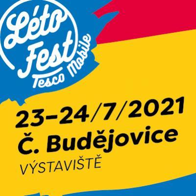 Létofest 23. - 24. 07. 2021 České Budějovice