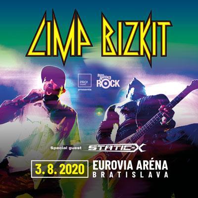 Limp Bizkit & Static-X, Bratislava