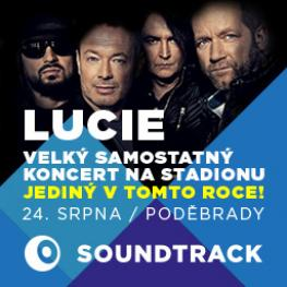 SOUNDTRACK PODĚBRADY LUCIE Lucie's only concert this year!