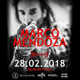 MARCO MENDOZA Viva La Rock european tour 2018 - Vrútky