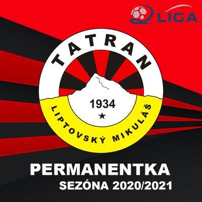 MFK Tatran Liptovský Mikuláš // PERMANENTKY // Sezóna 2020/2021