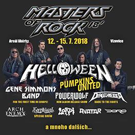 MASTERS OF ROCK 2018 <br>Vizovice