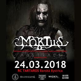 MORTIIS Live Re-Interpretation Ånden Som Gjorde Opprør album - Banská Bystrica