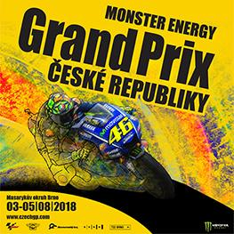 Monster Energy <br>Grand Prix České republiky 2018 <br>Moto GP 2018