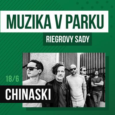 Muzika v parku / Chinaski 18.6.2020