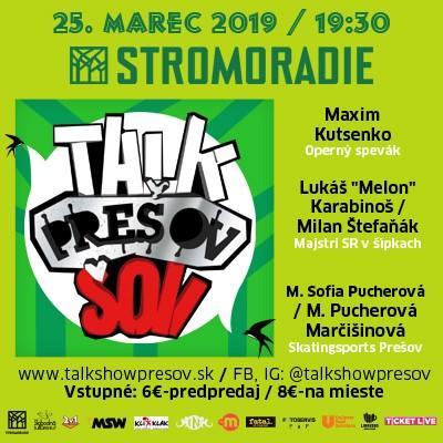 Talkshow Prešov XXV.