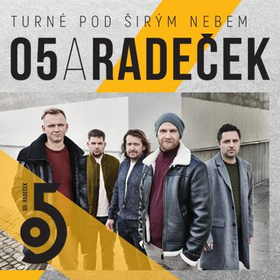 O5 a Radeček / Turné pod širým nebem 2021 / Plzeň