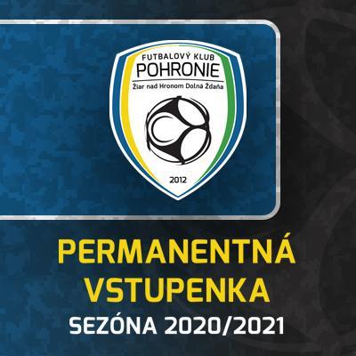 FK Pohronie // Permanentky // Sezóna 2020/2021
