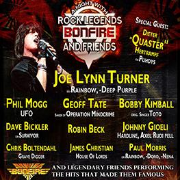 Rock Legends Bonfire & Friends