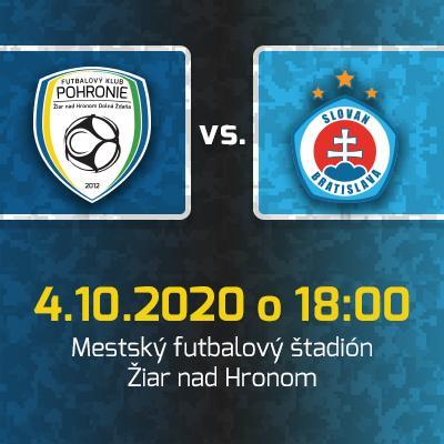 FK Pohronie - ŠK Slovan Bratislava / 9. kolo