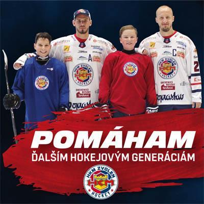 HKM Zvolen - Pomáham ďalším hokejovým generáciám