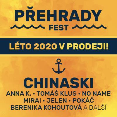 PŘEHRADY FEST 2020 - SLAPY