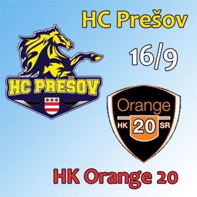 HC Prešov - HK Orange 20 16.9.2018