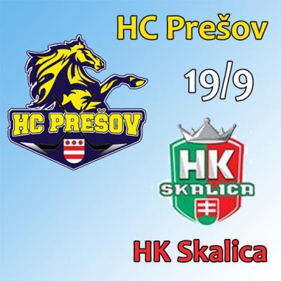 HC Prešov - HK Skalica 19.9.2018