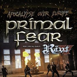 APOCALYPSE OVER EUROPE TOUR <br>PRIMAL FEAR <br>PRAHA