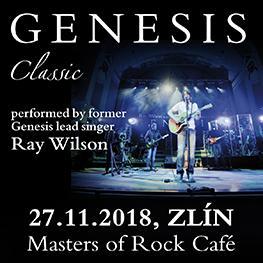 RAY WILSON <br>GENESIS <br>Zlín