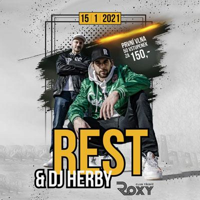REST a DJ HERBY / 15. 01. 2021