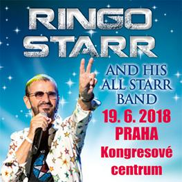 RINGO STARR <br> & His All-Starr Band <br>Praha