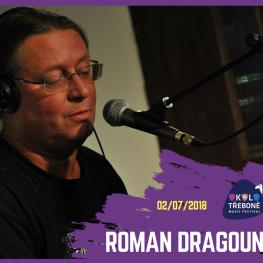 FESTIVAL OKOLO TŘEBONĚ 2018 <br> ROMAN DRAGOUN