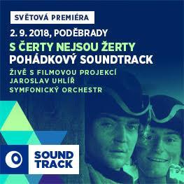 SOUNDTRACK Poděbrady 2018 <br>S čerty nejsou žerty <br>Filmová pohádka s živým provedením hudby Jaroslava Uhlíře