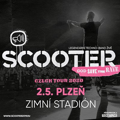 SCOOTER LIVE IN PLZEŇ