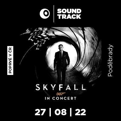 SOUNDTRACK Poděbrady 2022 <br>James Bond: <i>Skyfall</i> in Concert