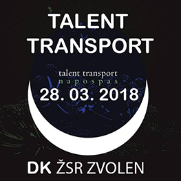 TALENT TRANSPORT  Zvolen