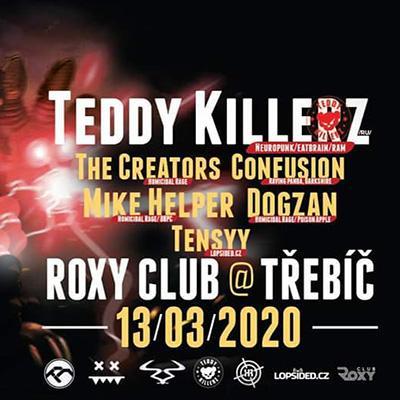 DRUM division & Teddy Killerz - Třebíč