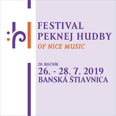 Festival peknej hudby 2019 - 20. ročník - PERMANENTKA