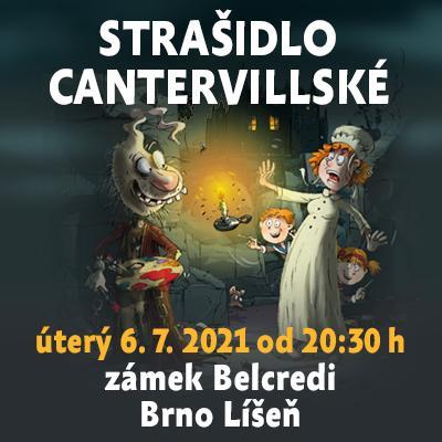 Strašidlo cantervillské / zámek Belcredi - Brno Líšeň 06. 07. 2021