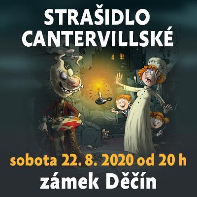 Strašidlo cantervillské / Děčín 22.8.2020