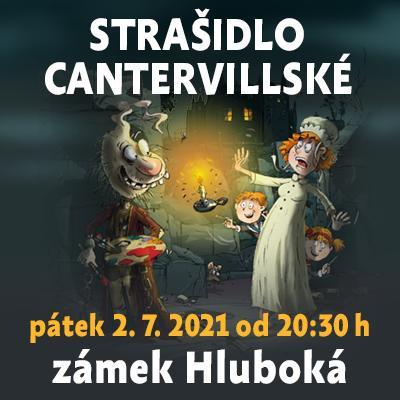 Strašidlo cantervillské / Státní zámek Hluboká 02. 07. 2021