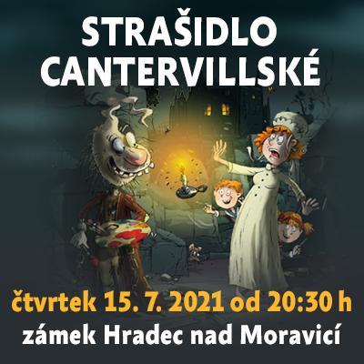 Strašidlo cantervillské / Státní zámek Hradec nad Moravicí 15. 07. 2021