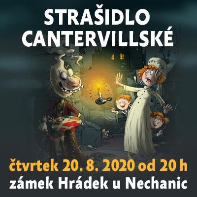 Strašidlo cantervillské / Hrádek u Nechanic 20.8.2020