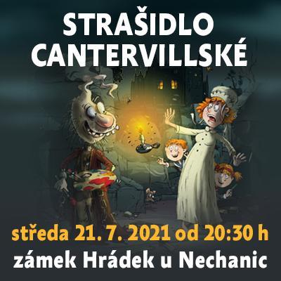 Strašidlo cantervillské / Státní zámek Hrádek u Nechanic 21. 07. 2021