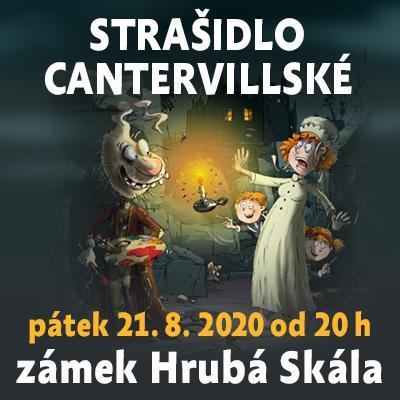 Strašidlo cantervillské / Hrubá skála 21.8.2020