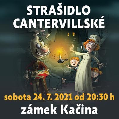 Strašidlo cantervillské / Muzeum českého venkova - zámek Kačina 24. 07. 2021