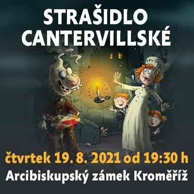 Strašidlo cantervillské / Arcibiskupský zámek Kroměříž 19.08.2021