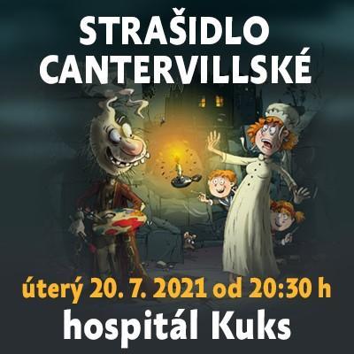 Strašidlo cantervillské / hospitál Kuks 20. 07. 2021