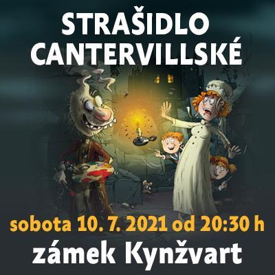 Strašidlo cantervillské / Státní zámek Kynžvart 10. 07. 2021