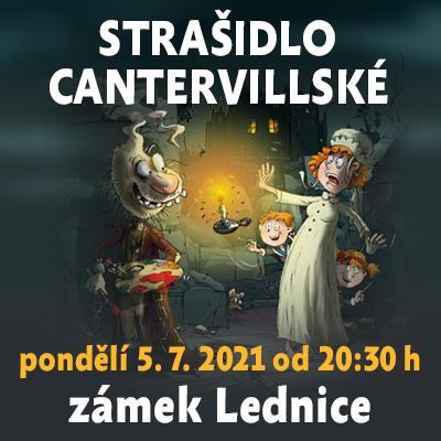 Strašidlo cantervillské / Státní zámek Lednice 05. 07. 2021