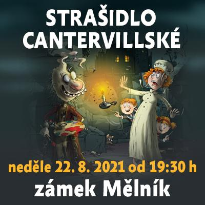 Strašidlo cantervillské / zámek Mělník 22. 08. 2021
