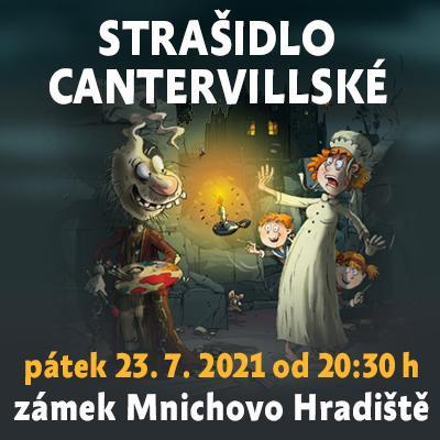 Strašidlo cantervillské / Státní zámek Mnichovo Hradiště 23. 07. 2021