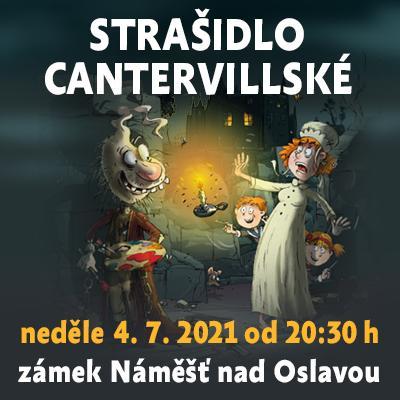 Strašidlo cantervillské / Státní zámek Náměšť nad Oslavou 04. 07. 2021